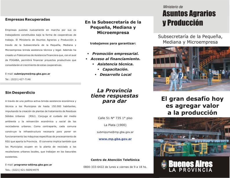 legislacion microempresas: